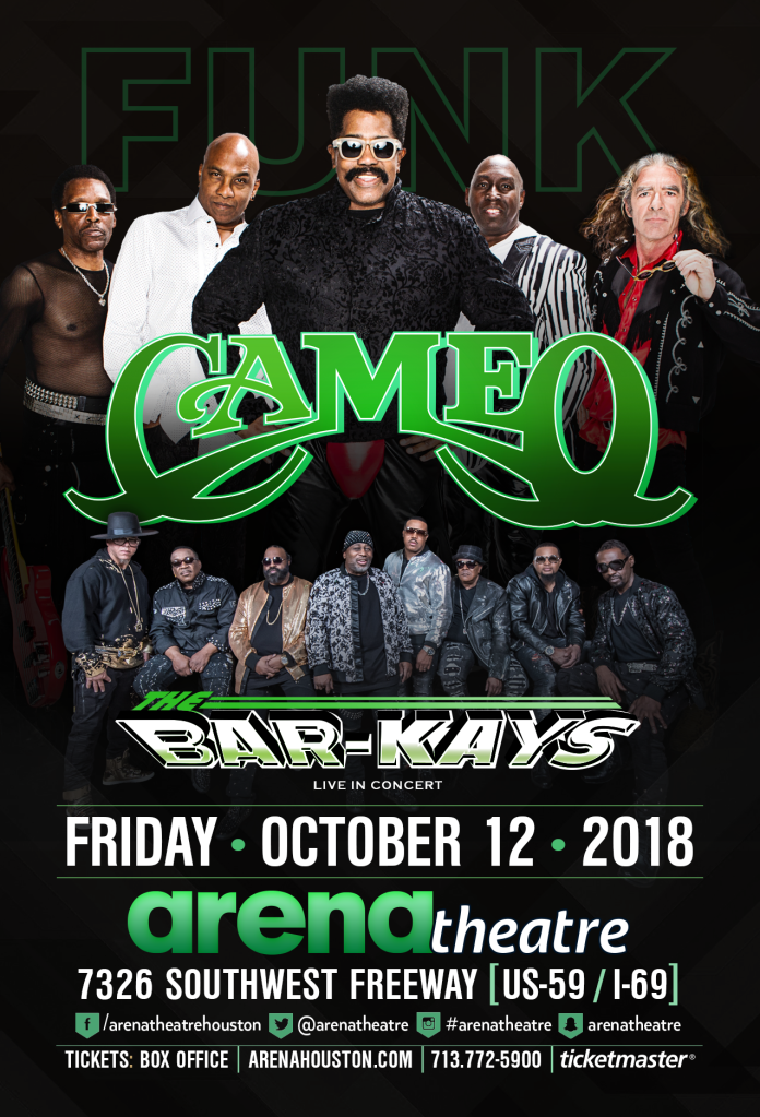 Cameo & The Bar-Kays At The Arena Theatre