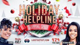 Radio One Houston Single Mothers Holiday Shopping Spree