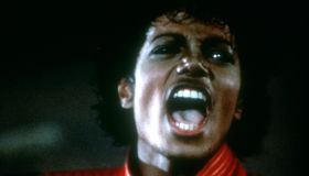 Michael Jackson Thriller Video Shoot