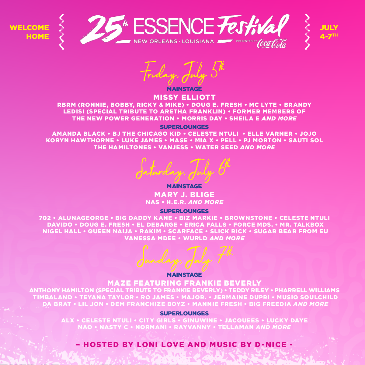 Essence Festival Giveaway