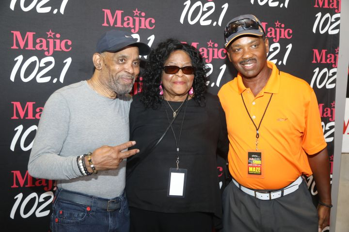 Frankie Beverly & Maze Meet And Greet - Majic Under The Stars