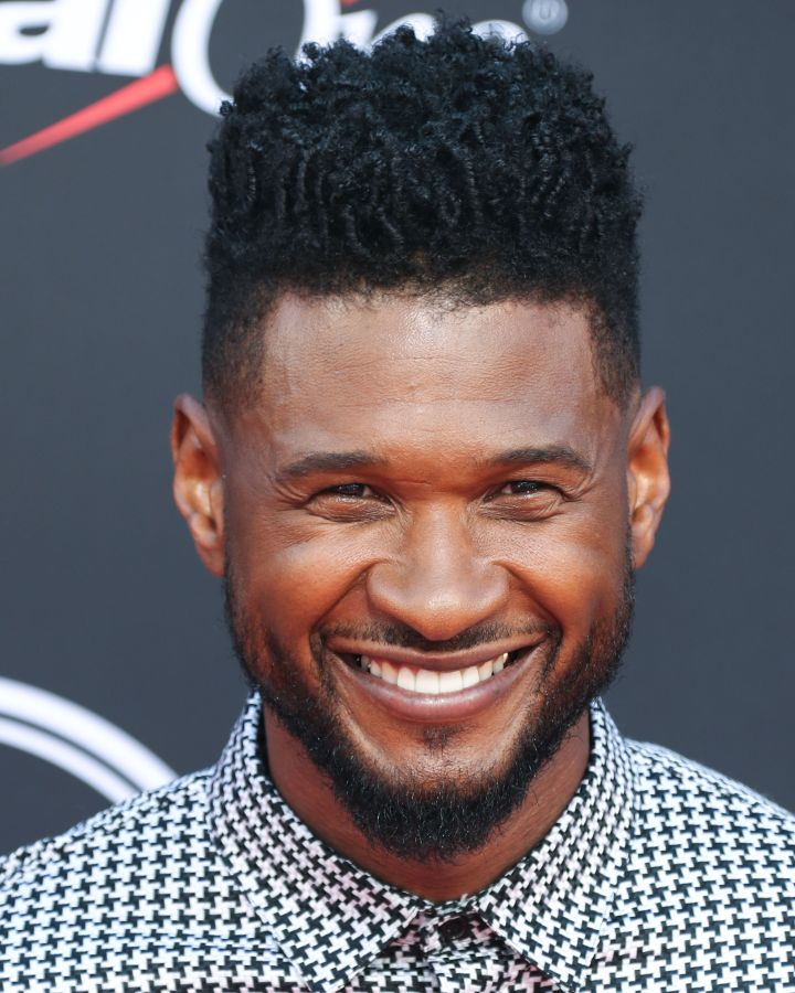 Singer Usher Raymond IV arrives at the 2019 ESPY Awards held at Microsoft Theater L.A. Live on July 10, 2019 in Los Angeles, California, United States. (Photo by Xavier Collin/Image Press Agency)