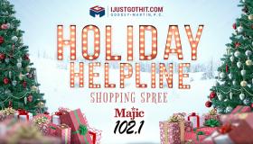 Holiday Helping Shopping Spree