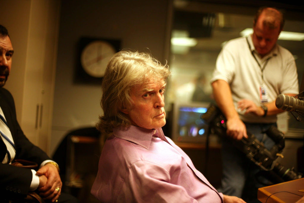 Don Imus appears on the Al Sharpton radio show in 2007