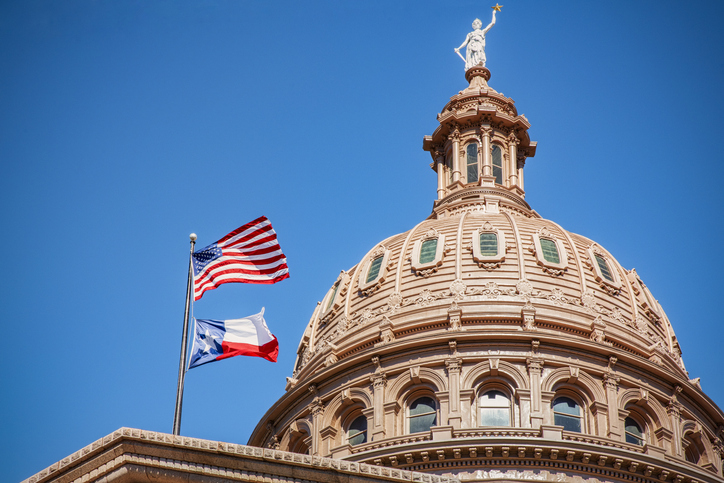 The Dome of the Texas State Capitol