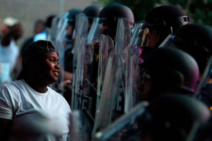 TOPSHOT-US-POLITICS-POLICE-JUSTICE-RACE-DEMONSTRATION-RACISM
