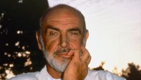 American actor Sean Connery.