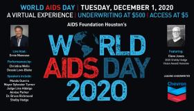 World Aids Day 2020 Houston