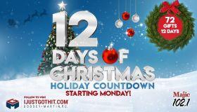 12 Days of Christmas KMJQ