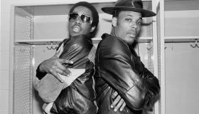 Whodini Backstage At The UIC Pavilion