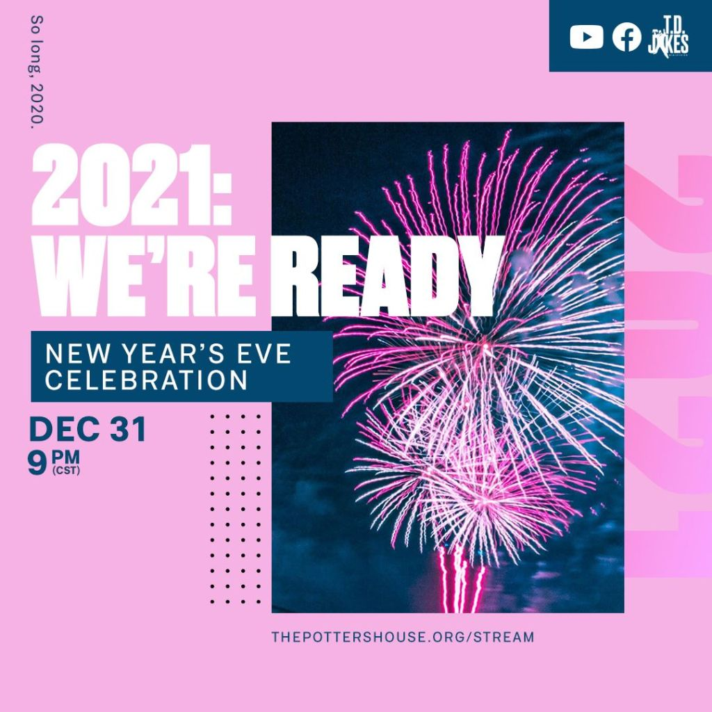 2021 We're Ready Flyer