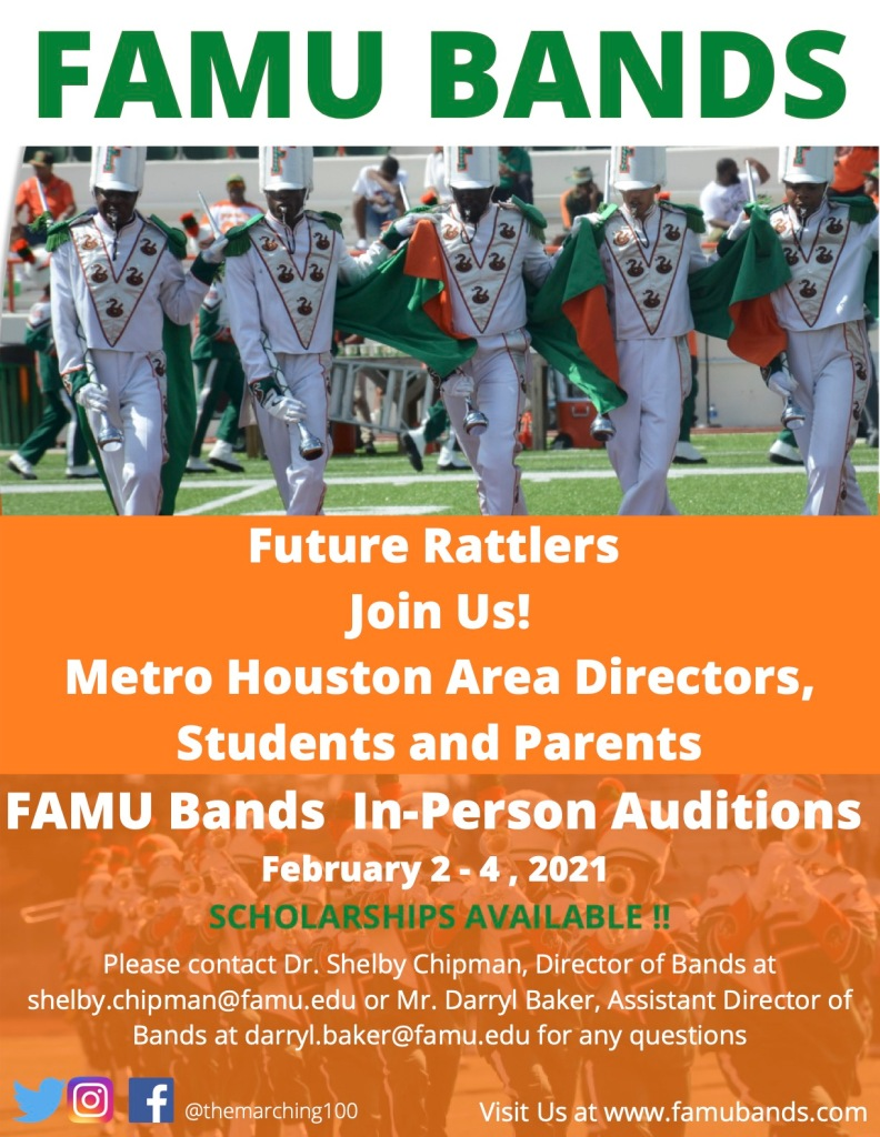 FAMU Marching 100 Houston