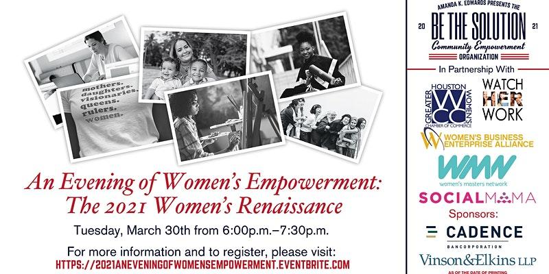 An Evening Of Women's Empowerment Flyer