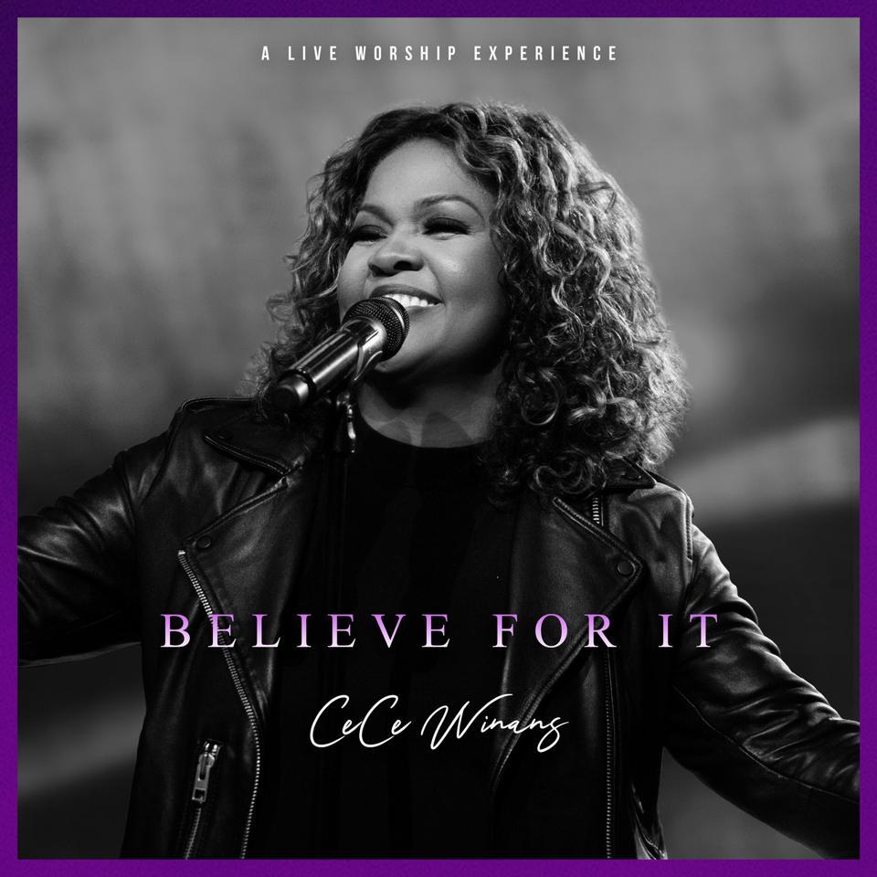 Cece Winans Believe For It Cover