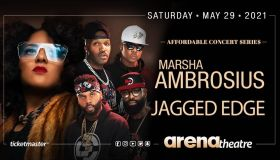 Marsha Ambrosius & Jagged Edge Flyer
