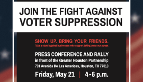 Fight Against Voter Suppression Rally