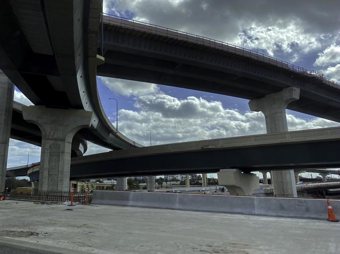 Infrastructure highway bridges and roads construction