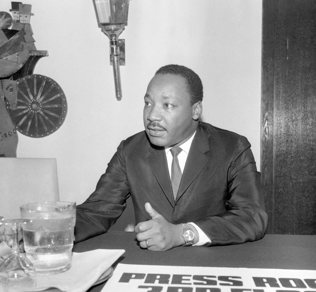 Civil Rights Movement - Martin Luther King - Hilton Hotel, London