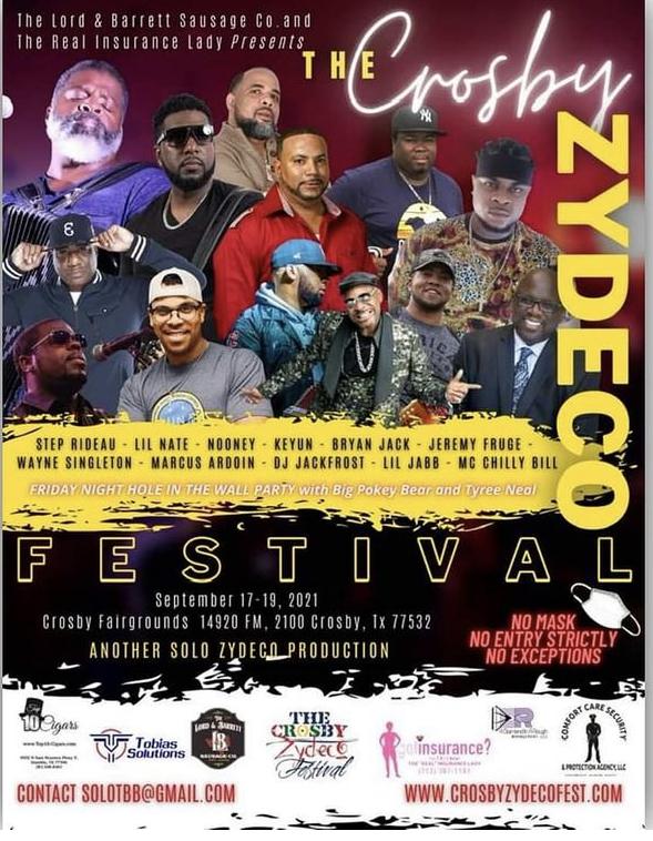 Crosby Zydeco Festival